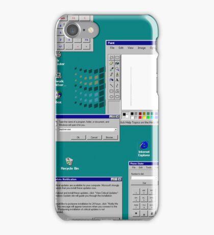 Windows 95 Productivity Flow iPhone Case/Skin