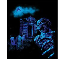 Graveyard Ghoul Photographic Print