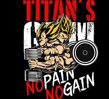 no pain no gain by MAKTM