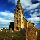 St Bartholomew's Church Newbiggin Northumberland by Moonlake