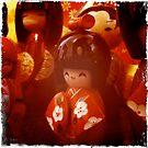 Kokeshi dolls by Richard Pitman