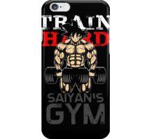 TRAIN HARD iPhone Case/Skin