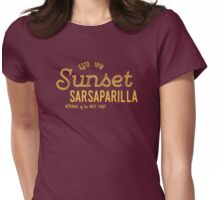 Sunset Sarsaparilla Womens Fitted T-Shirt