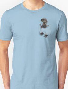 Pocket Protector - Male Raptor T-Shirt