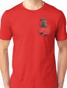 Pocket Protector - Male Raptor Unisex T-Shirt