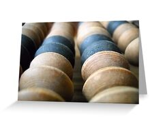 Abacus.Collection. Greeting Card