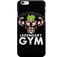 legendary's gym iPhone Case/Skin