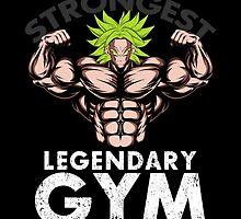 legendary's gym by MAKTM