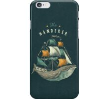 Whale | Petrol Grey iPhone Case/Skin