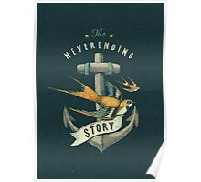 Anchor | Petrol Grey Poster