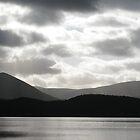 Loch Morlich Dramatic Sky by Tazfiend