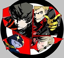 Persona 5, All Out Attack! by FormalComplaint