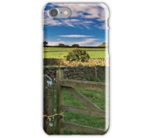 Wild Slack Farm North Yorkshire UK iPhone Case/Skin