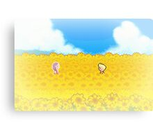 Sunflower Fields - Mother 3 Canvas Print