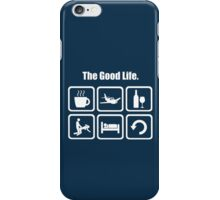 Funny T Shirt for Pilots - The Good Life iPhone Case/Skin