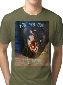Save Us Please Tri-blend T-Shirt