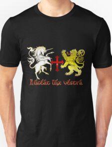 Coat of arms - Luceat lux vestra Unisex T-Shirt