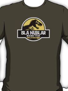 Isla Nublar Research Team T-Shirt
