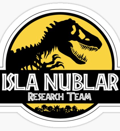 Isla Nublar Research Team Sticker