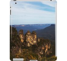 Three Sisters -Blue  Mountains- iPad Case/Skin