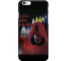 Masque of the Red Death iPhone Case/Skin