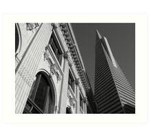 San Francisco - Transamerica Pyramid Art Print