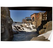 Quechee Historic Mill District Poster