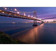 "The James ""Sunny Jim"" Rolph Bridge Photographic Print"