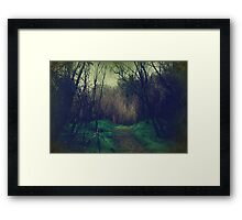 Disappearance Framed Print