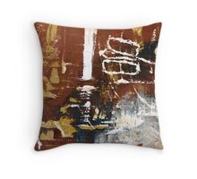 Postage Stamp Entry _001 Throw Pillow