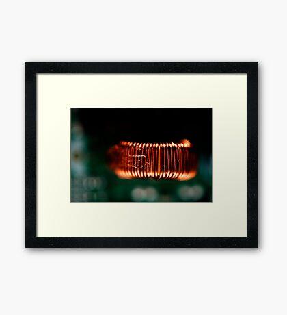 Abstract Macro #127 Framed Print