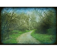 Just Around the Bend Photographic Print