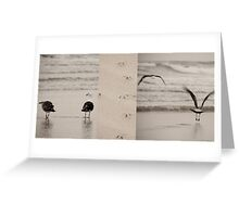 Fight or Flight reconsidered Greeting Card