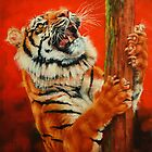 Tiger Tiger Burning Bright by Margaret Stockdale