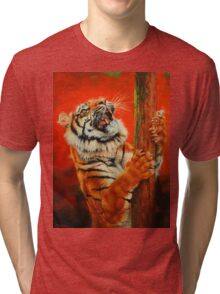 Tiger Tiger Burning Bright Tri-blend T-Shirt