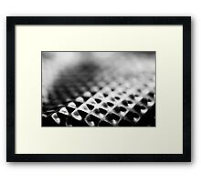 Abstract Macro #139 Framed Print