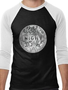 She Does What the Night Does to the Day... Men's Baseball ¾ T-Shirt