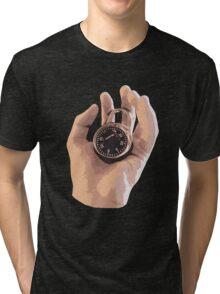 Handlock Visual Pun Tri-blend T-Shirt