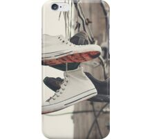 Shoes on a Line iPhone Case/Skin