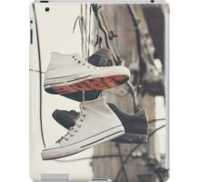 Shoes on a Line iPad Case/Skin