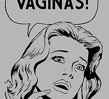 Vaginas! Funny Comic  by ArtWithHearts11