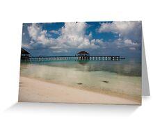 Medhufushi Island Greeting Card