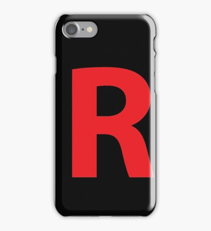 Team Rocket iPhone Case/Skin
