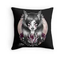 Child of the Moon. Throw Pillow