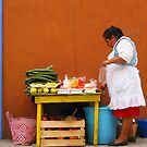 Mexican Woman by Christine Wilson
