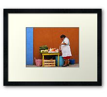 Mexican Woman Framed Print