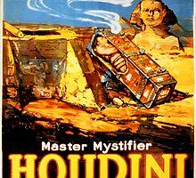 Master mystifier Houdini Rare Vintage by Carsten Reisinger