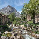 Mountain village in the Picos de Europa by Chris Allen