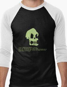 Murray, the invincible demonic skull Men's Baseball ¾ T-Shirt