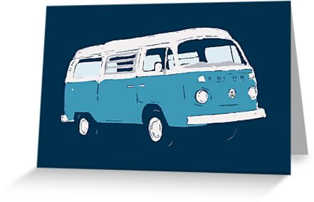 Bay Window Campervan Basic Colours (see description) by Ra12